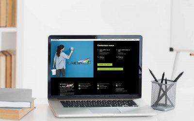 Nouveau site internet www.laidin.fr